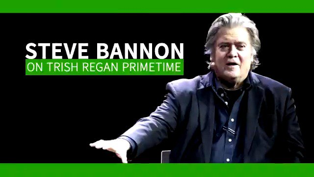 Tonight – my EXCLUSIVE interview with former @realDonaldTrump White House Chief Strategist #SteveBannon – 8pm ET ONLY on @FoxBusiness