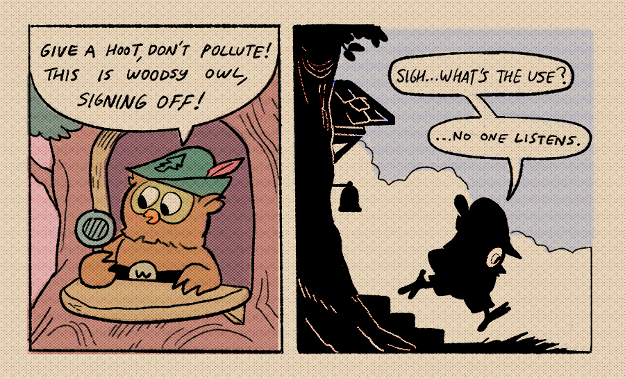 an owl's thoughts