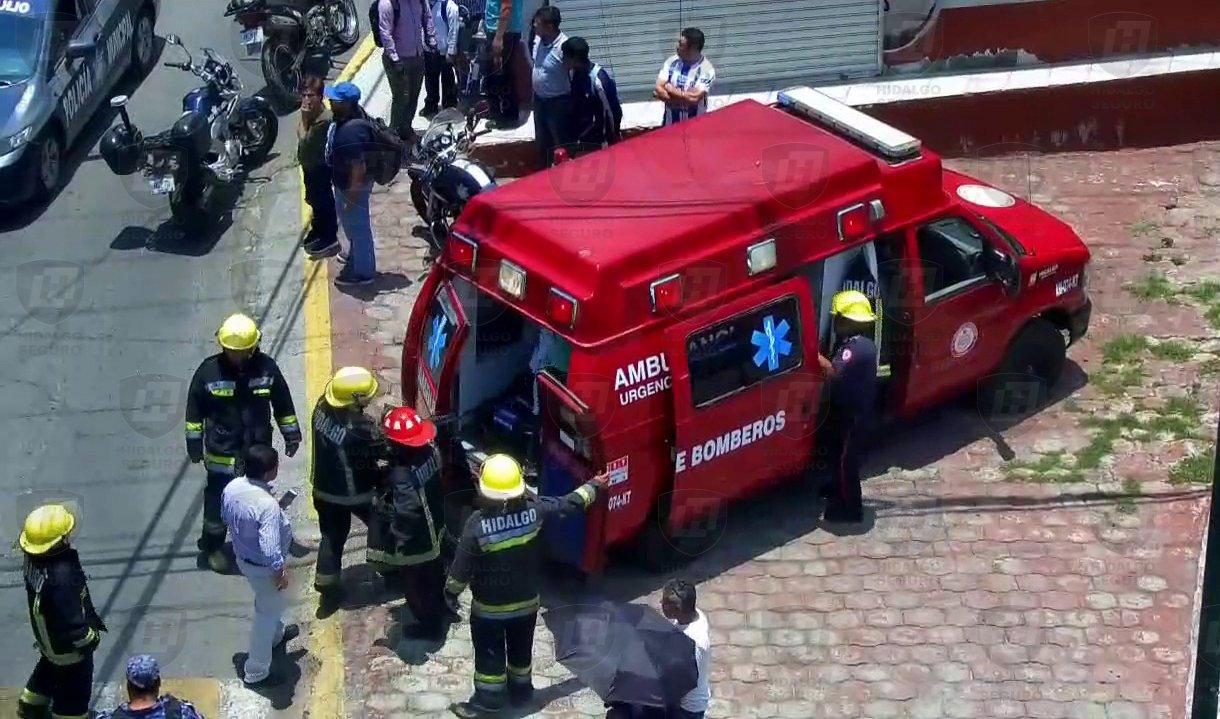 Se registra explosión en el barrio de Palmitas en Pachuca