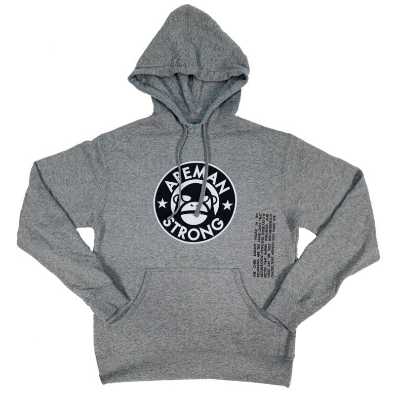 New hoodie up on the site. apemanstrong.com/hoodies/gray-p…