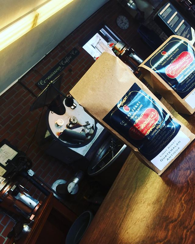Coffee recommendation of the day: Our Guatemala Antigua! A light roast blend, medium in strength, guaranteed to make any morning better! #ConnoisseurCoffee #Coffee #Guatemala #RedwoodCity