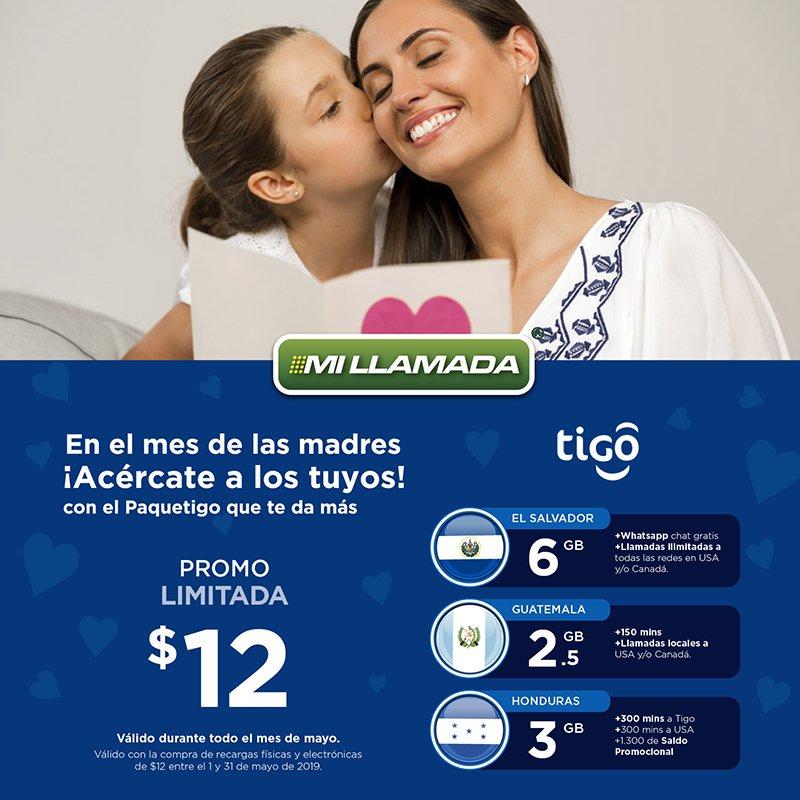 📲👩 Durante mayo Recarga $12 a Mamá en #Centroamérica y consiéntela con los beneficios que #tigo 💙 y Mi llamada 💚 tienen para ella. http://www.usamillamada.com  #recargasaldo #latinos #madresolouna #elsalvador #guatemala #honduras #mobilerecharges #dataplans #callingplans
