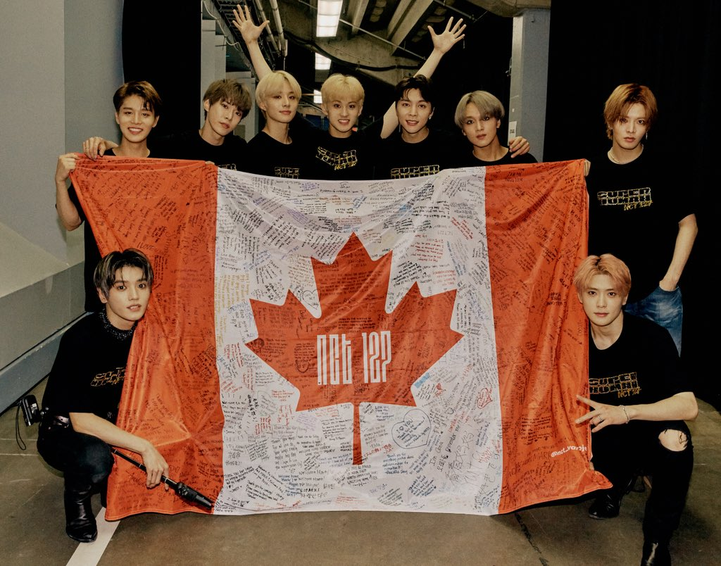 Thank you CANADA!!!❤️🇨🇦💚 NCT 127 〖 #SUPERHUMAN 〗 Music Release ➫ 2019 05 24 #WE_ARE_SUPERHUMAN #NCT127_SUPERHUMAN #VANCOUVER #TORONTO #NEOCITYinCANADA #NCT127inCANADA #NCT127 #NCT