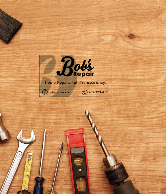 @BobsRepair is always excited to see the community helping us build a brand! Please do not forget we are having a design contest to wrap the van, create a business card and stickers to help raise awareness! First Place winners get $500 USD, Second $250 and third place $100.