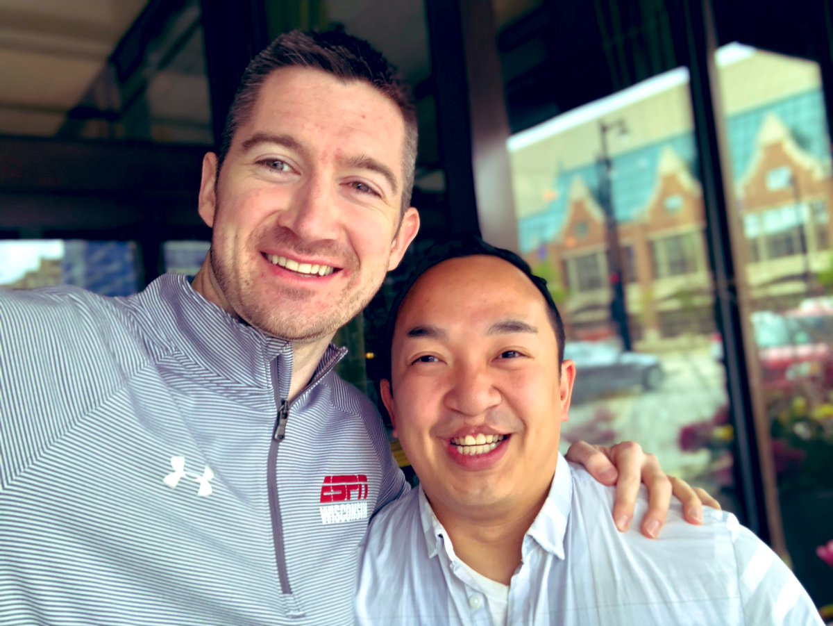 Had a blast grabbing lunch today at @miller_time_pub with my great friend @erikk292mke as we celebrated the 4 year anniversary of his #sobriety date. Keep going strong #onedayatatime my brother!  <br>http://pic.twitter.com/sF9JNIX3AT