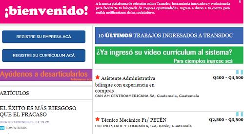 #Guatemala VACACIONISTA/#XELA-  1 de todas  las plazas publicadas.          Aplica en https://bit.ly/2wbIb7L  @transdocnoticia