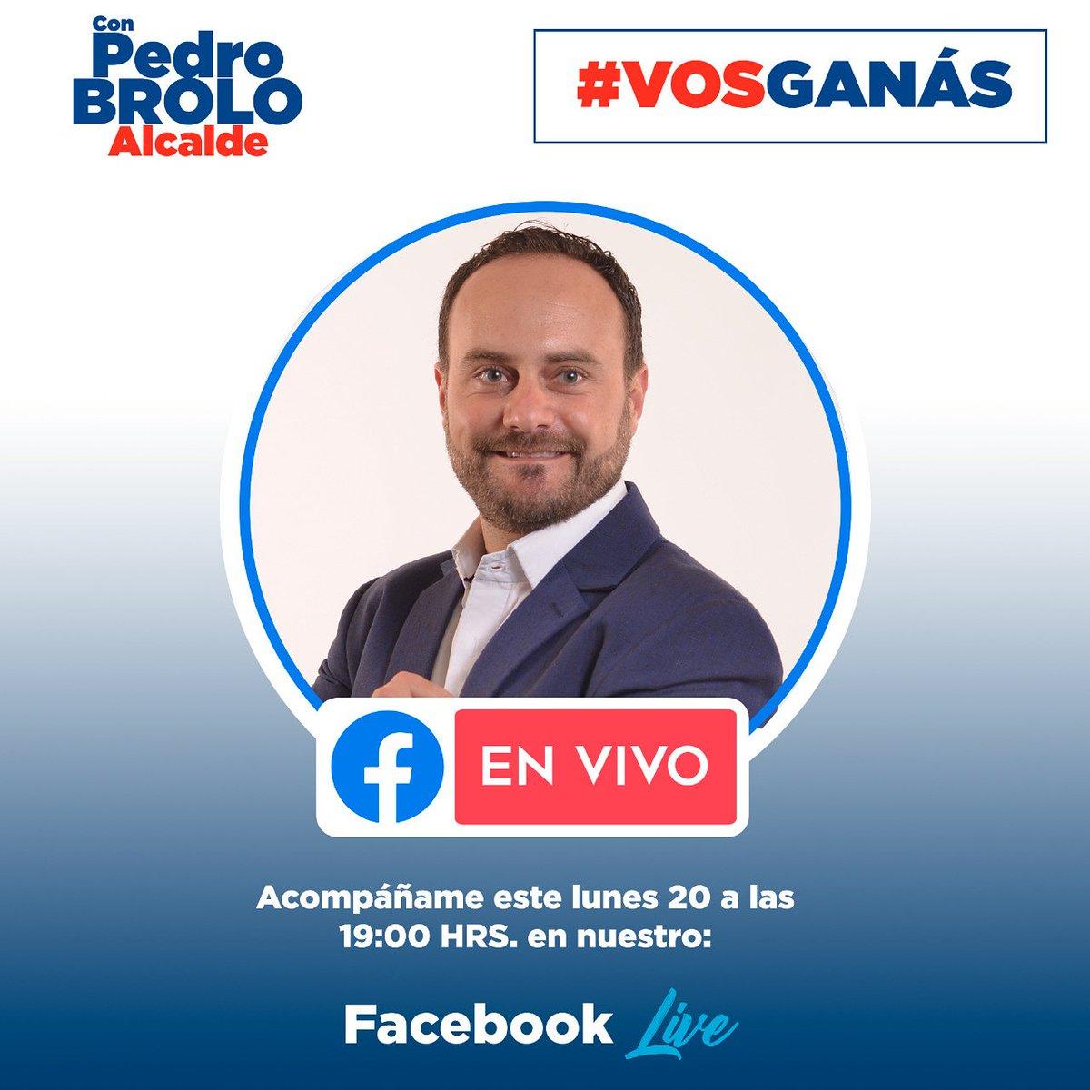 Esta noche estaré en vivo  por Facebook para hablar acerca de nuestro Plan Tu Basura Vale.   Con #PedroBrolo #Alcalde #VosGanás #Guatemala