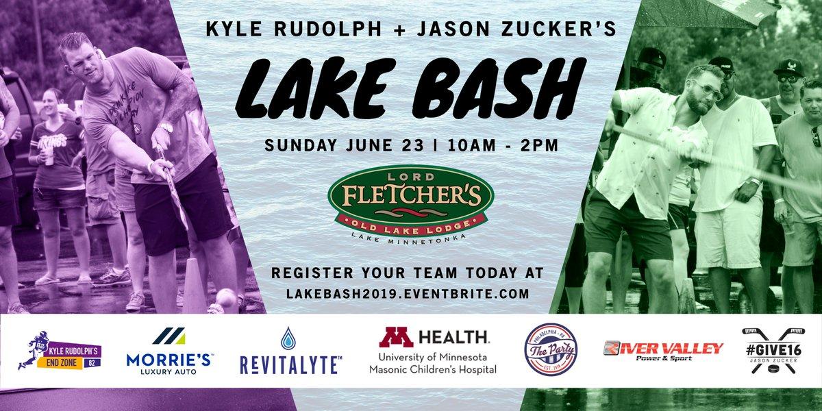 Jason Zucker On Twitter Another Year Of Lake Bash Happening