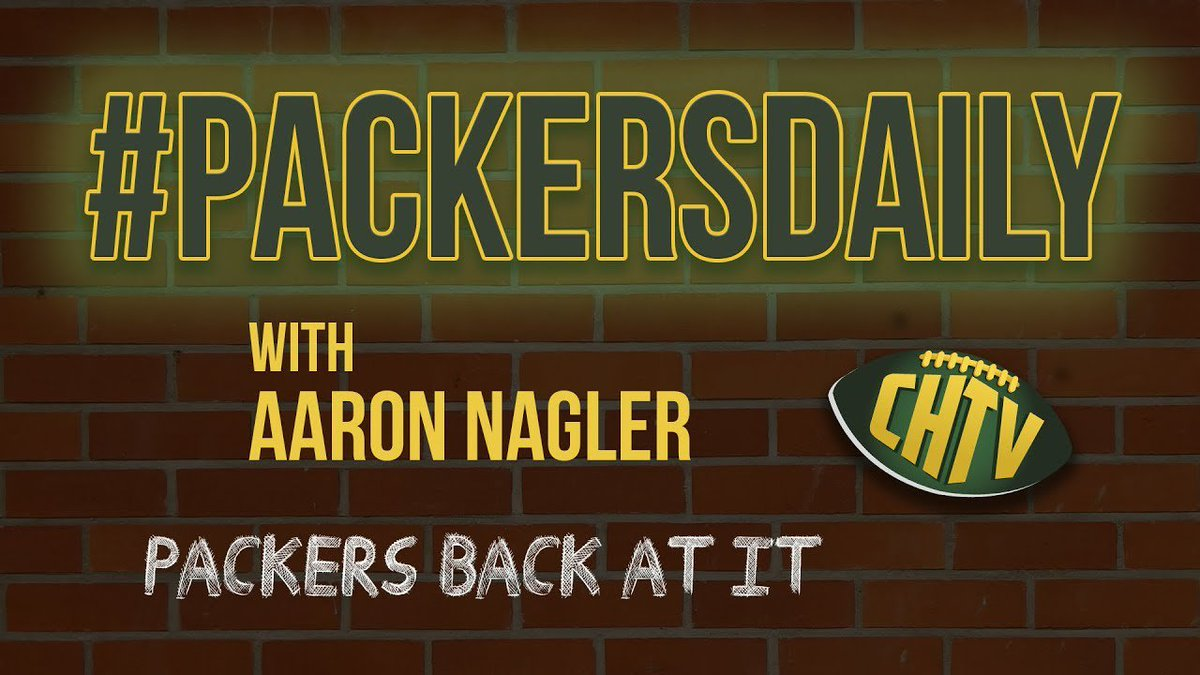 #PackersDaily: Packers back at it dlvr.it/R554cG #Packers #GoPack