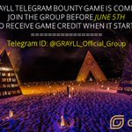Image for the Tweet beginning: TELEGRAM BOUNTY GAME is coming!