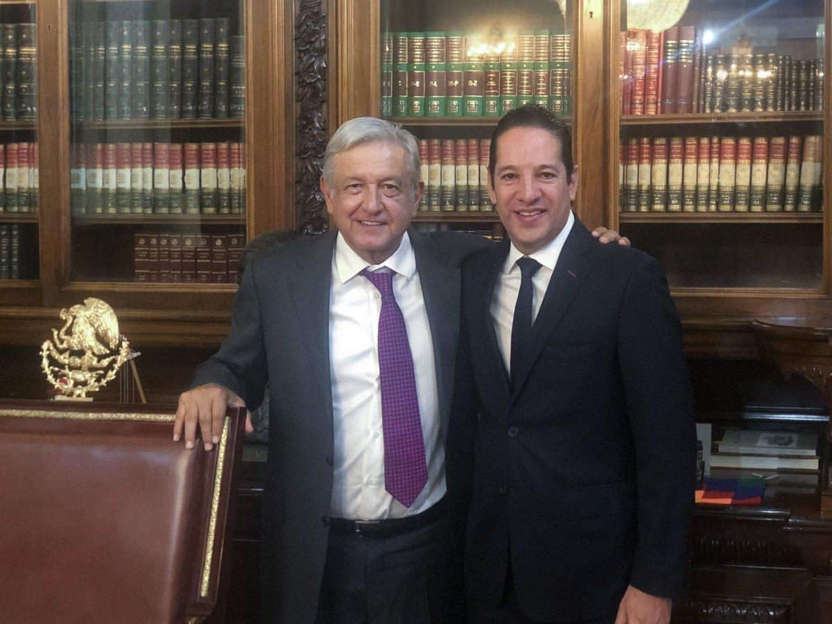 Conversé con Francisco Domínguez Servién, gobernador de Querétaro y presidente de la Conago.