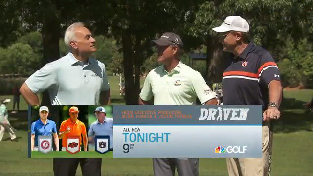 """I haven't worn red in 6 years. - @AuburnTigers head football coach Gus Malzahn If you havent learned it from #DrivenGC yet, the Auburn/Alabama rivalry is the real deal!"