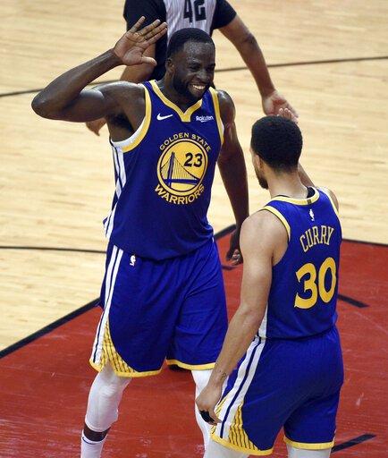 Steph Curry, Draymond Green rewriting NBA history. So are Warriors
