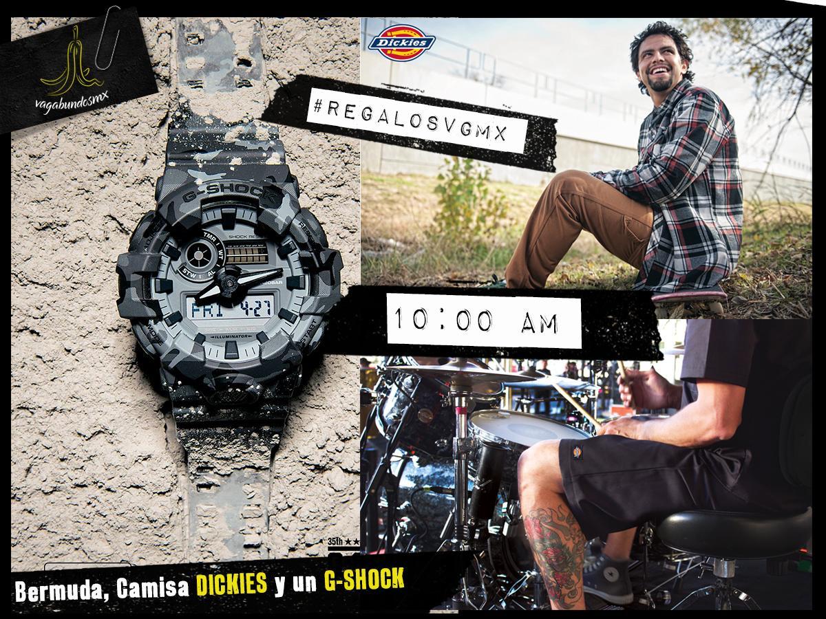 Prepárense por que mañana sale la dinámica para ganarse un bermuda con camisa de parte de @Dickies_mx y un grandioso reloj de @CasioGShockMX ¿Quién ya esta listo? https://t.co/IUy44UetTN