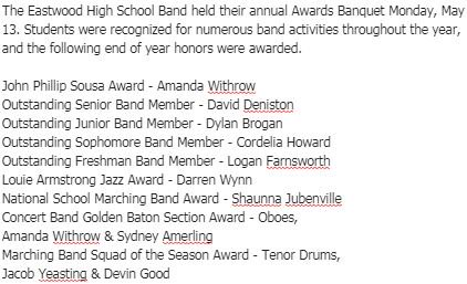 Congratulations! #musiced #musiceducation  <br>http://pic.twitter.com/UAY83K2ATi