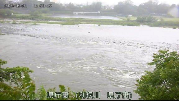 水位 利根川 氾濫 危険