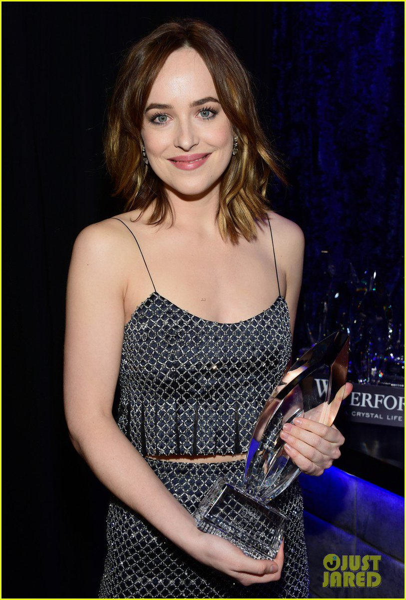 &quot;Johnson is a BAFTA nominated and award-winning actress and producer&quot;  #DakotaJohnson <br>http://pic.twitter.com/OsXf29M5O0