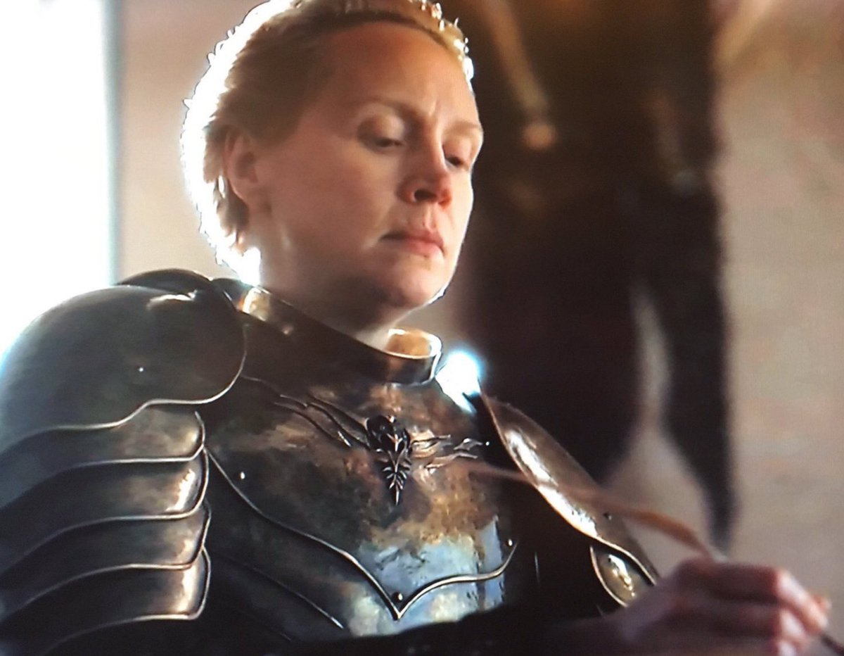 """""""Is you wit me?  How could you ever deceive me? But payback's a bitch motherfucker, believe me""""  - Ser Brienne of Tarth"""