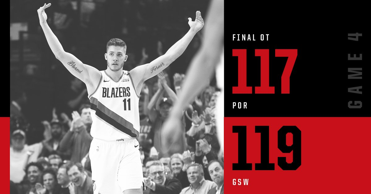 We'll be back next season. Thanks for the memories #RipCity