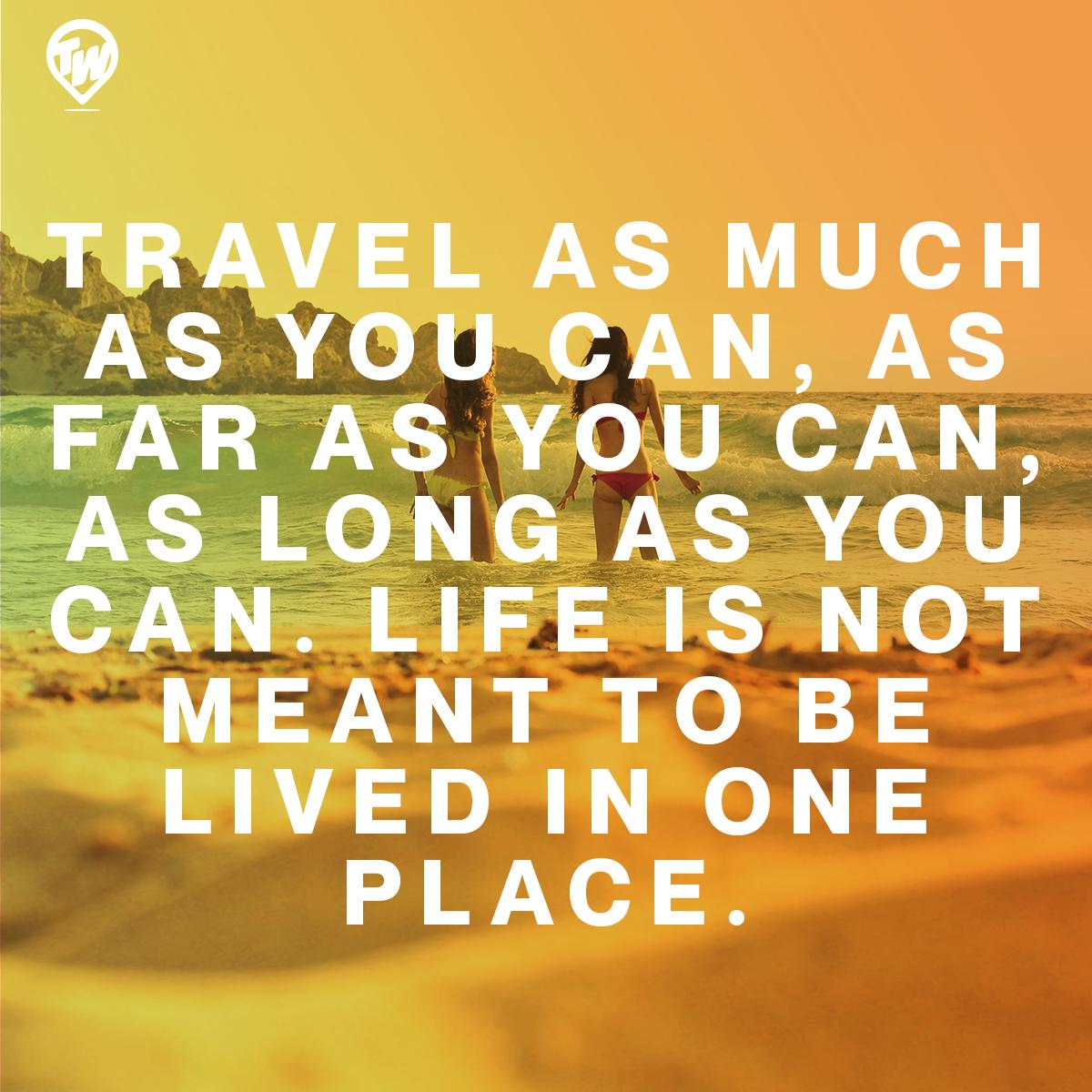 Tours For The World's photo on #MotivationMonday