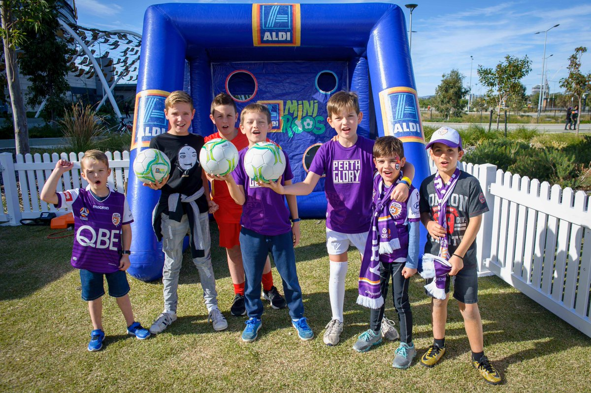 The future's bright - the future's purple... @ALeague @VisInspired  #OneGlory