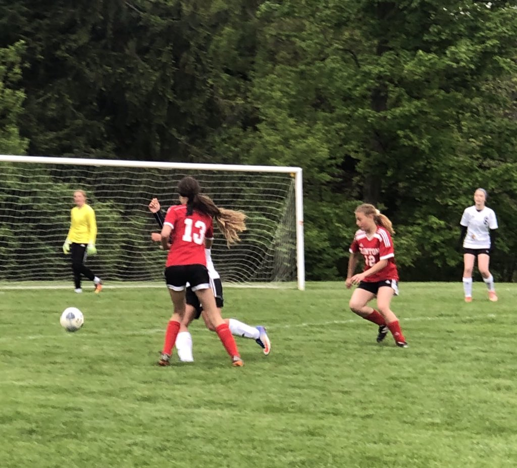 The passing and teamwork that happened tonight made this a 7-0 win.  Phillips 1, Chandler 3, Scheffler 1, Norman 1, Sclafani 1.  Assists by Kelly 2, McNatt 3.