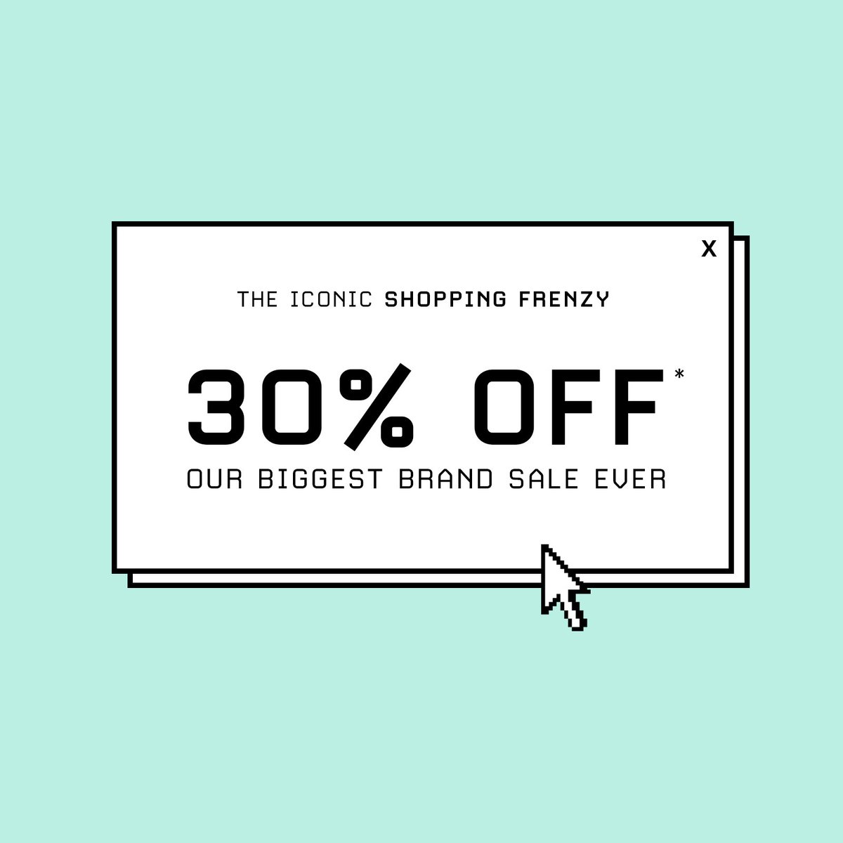 THE ICONIC SHOPPING FRENZY: 30% OFF*! 👏 Our biggest brand sale ever.   Shop Sale > https://t.co/Fm7conJ62z  *Ends 11:59PM AEST on 23.05.19. Selected styles and colours listed. Subject to terms and conditions. #shoppingfrenzy #theiconic https://t.co/qclwzBaOiB