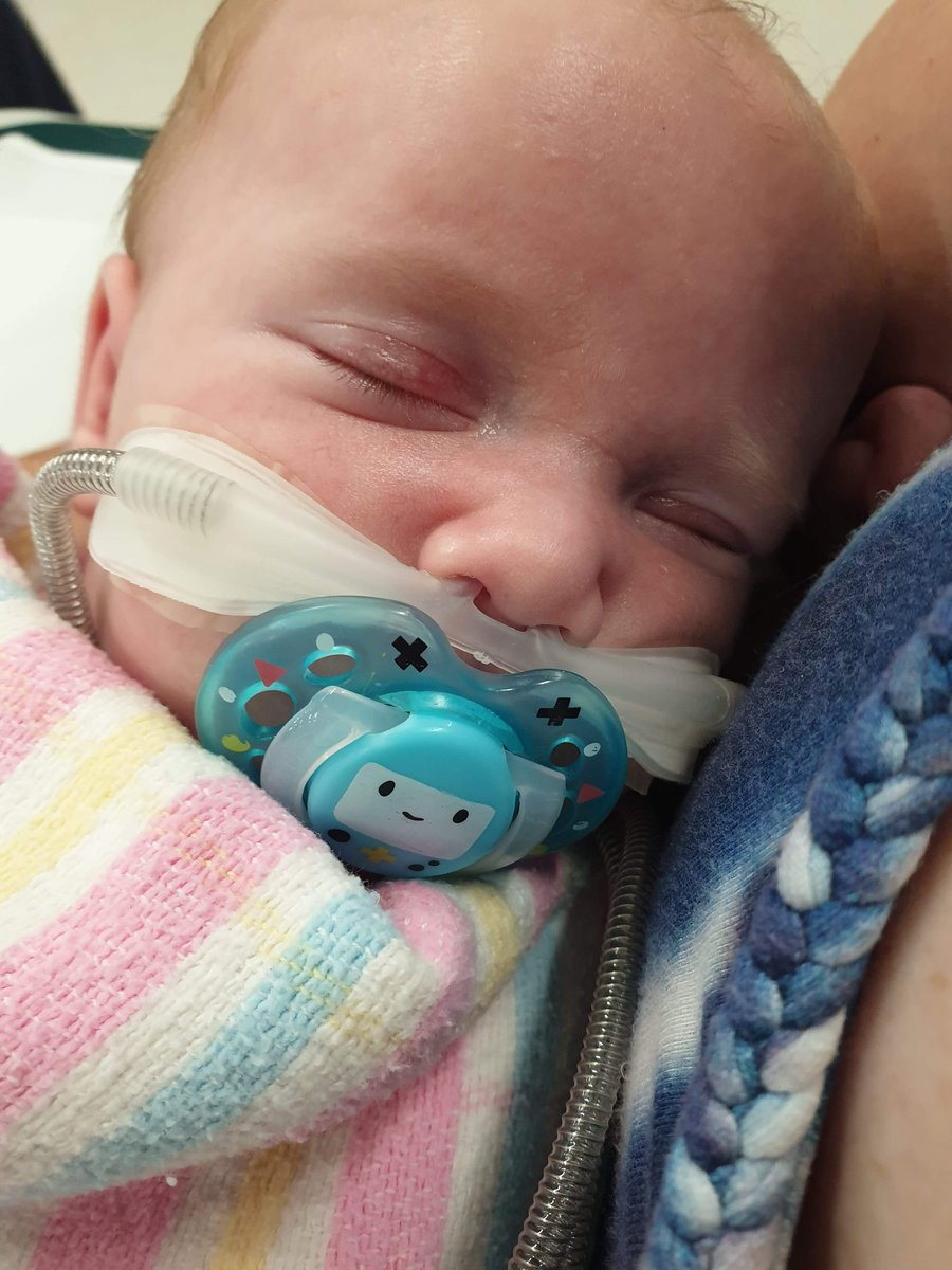 My poor nephew 5 weeks old is in hospital with a chest infection   Fight Hunter Raymond you are a strong lil warrior  @Sasse_Japril<br>http://pic.twitter.com/eD3WxkdPpU