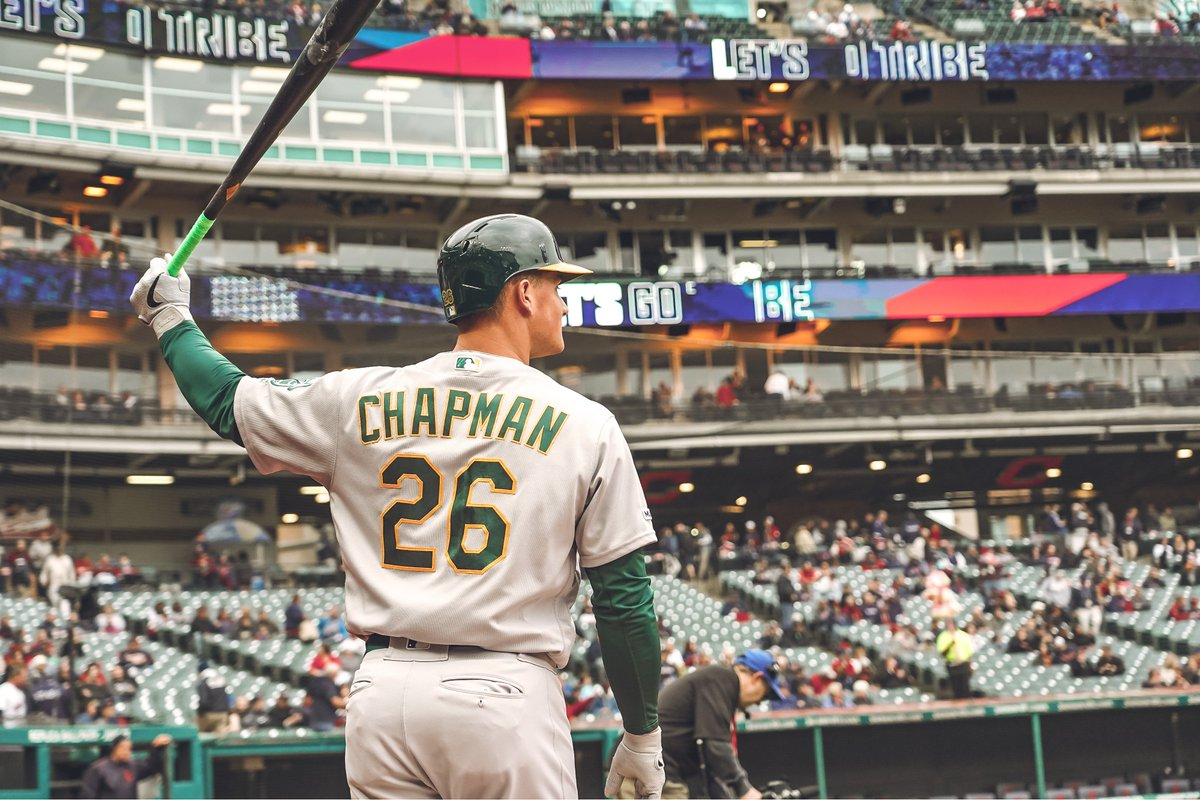Moments like this = Why you'll see Chappy back in Cleveland in July ⭐️ #RootedInOakland