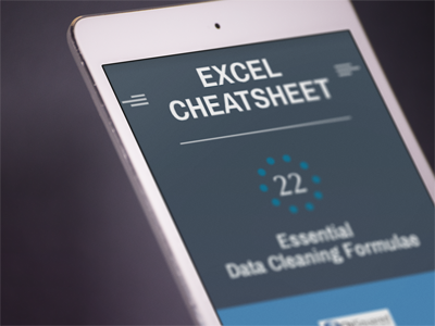 RT @eelrekab: #Free Excel #DataCleaning #Cheatsheet - 22 Essential Data Cleaning Formulae https://t.co/9zX8URwLPg https://t.co/l6chN3usxu