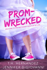 #Giveaway Prom-Wrecked by Jennifer DiGIovanni and T.H. Hernandez @JenDWrites @TheresaHernandz @EntangledTeen @chapterxchapter Ends 5.16 http://trbr.io/iSuLBBm