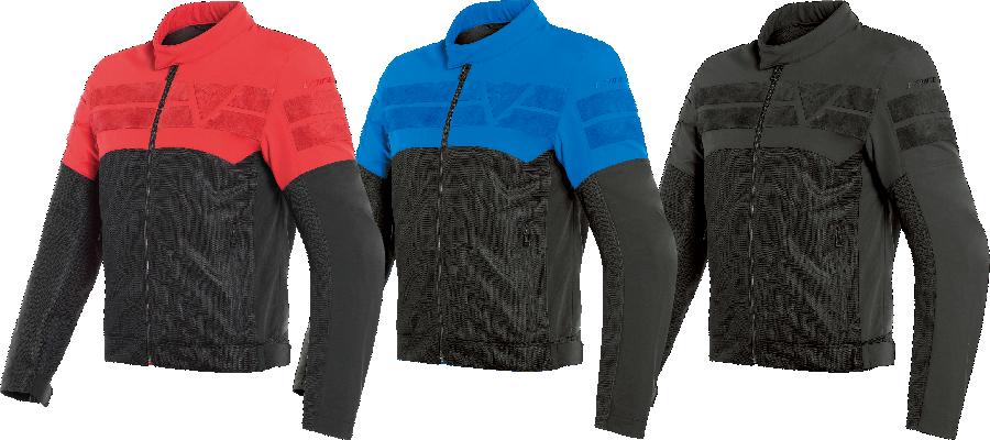 DAINESE斬新なデザインと配色の耐水加工メッシュジャケット https://buff.ly/2VPyhrN  AIR-TRACK TEX JACKET 価格:3万8880円 サイズ: 44~64 カラー: RED、BLACK/BLUE、BLACK/BLACK pic.twitter.com/0lzcNpcUba
