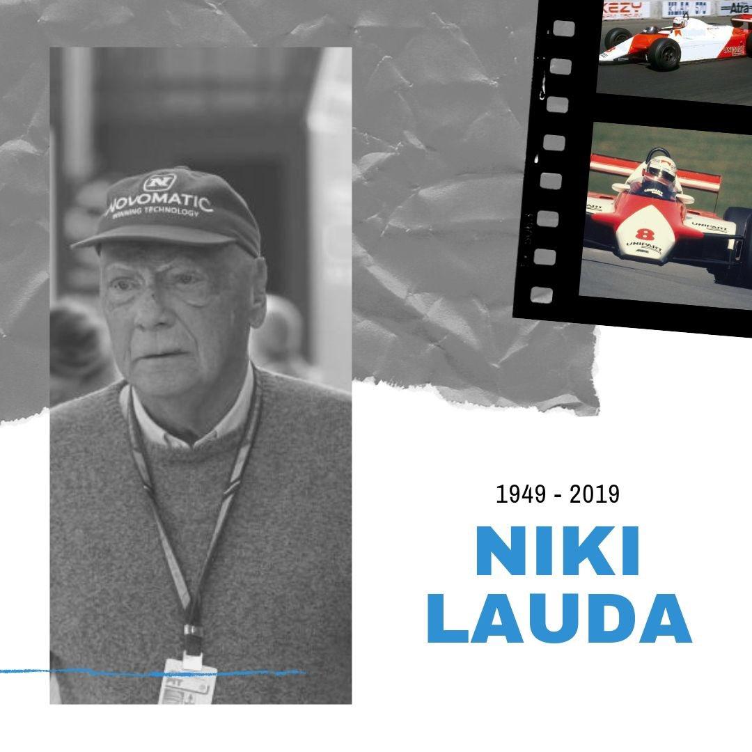 El histórico piloto de F1 Niki Lauda falleció este lunes a los 70 años de edad informó su familia.