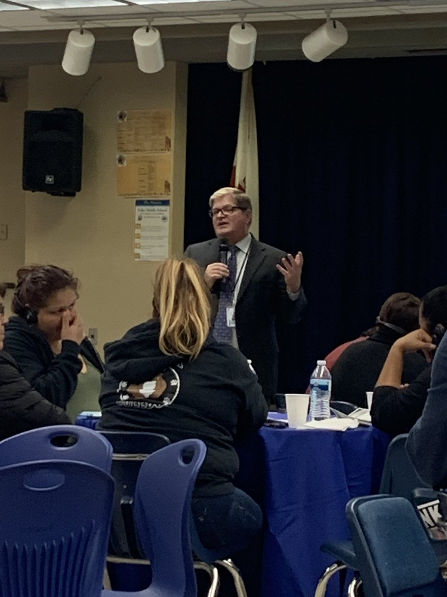 5/20/19 - Moreno Valley USD Superintendent Dr Martin Kedziora addressing community members in attendance to the LCAP Community Meeting <br>http://pic.twitter.com/r2KVc0tZpW