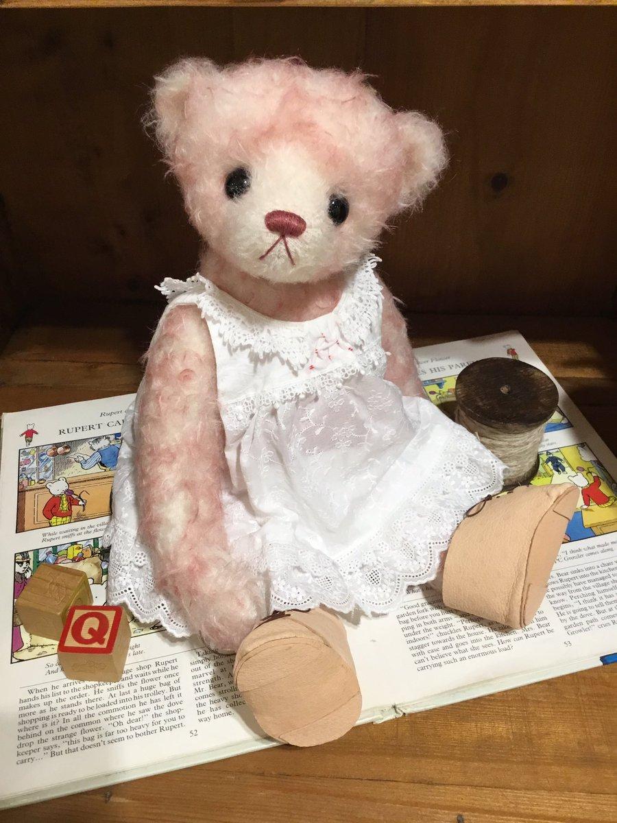 Dan Dee Victorian Valentine Teddy Bear W/ Heart Box Artist