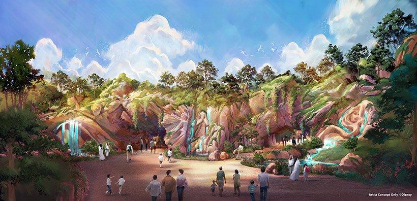 【ニュース!】 東京ディズニーシー大規模拡張プロジェクト、新テーマポート名称が「ファンタジースプリングス」に決定! 2022年度の開業に向けて、どうぞご期待ください! くわしくは>> http://tdr.eng.mg/806dd
