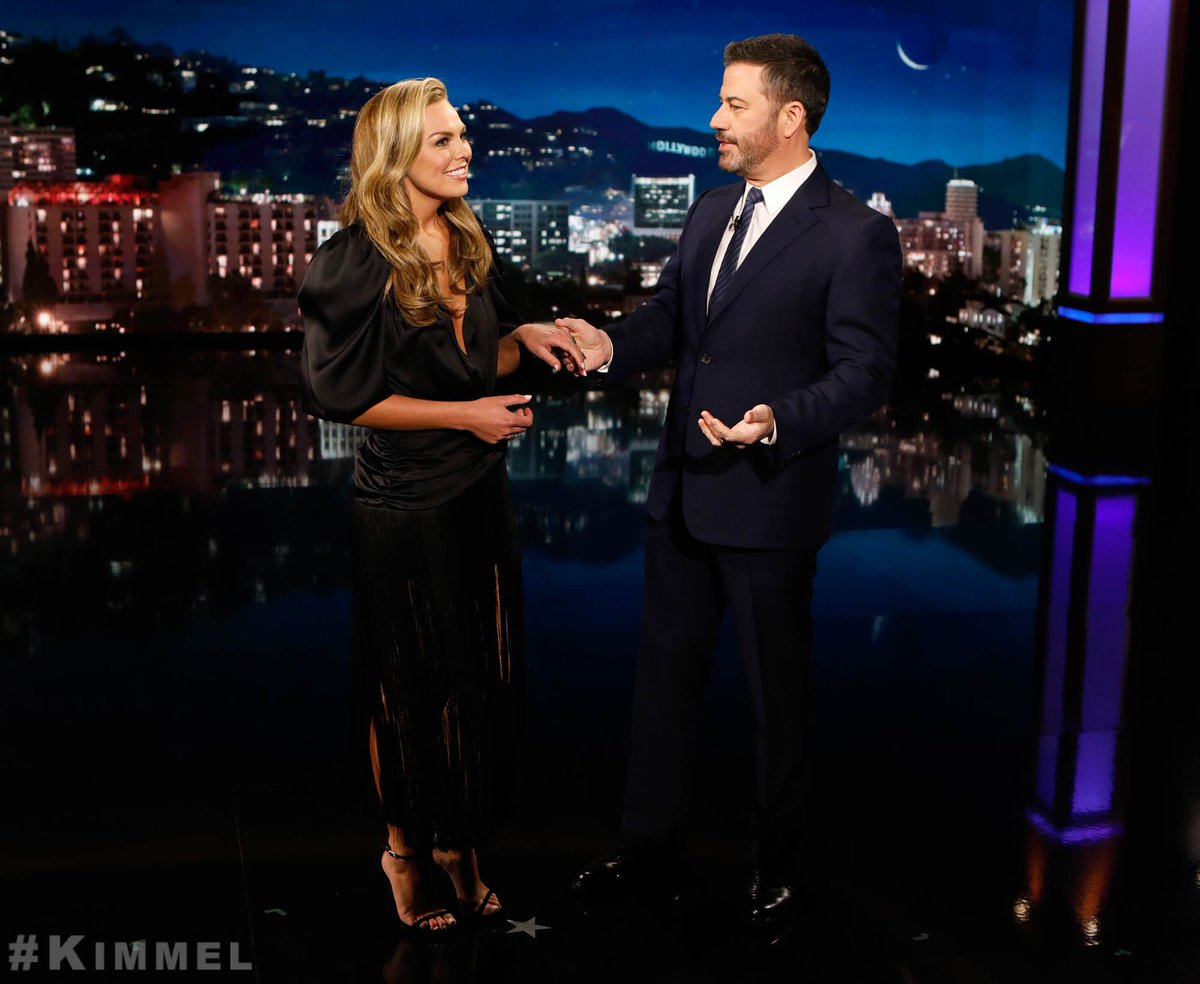 Image result for jimmy kimmel hannah brown