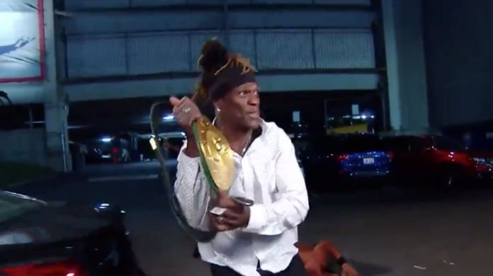 R-Truth Becomes Third WWE 24/7 Champion On RAW (Video)