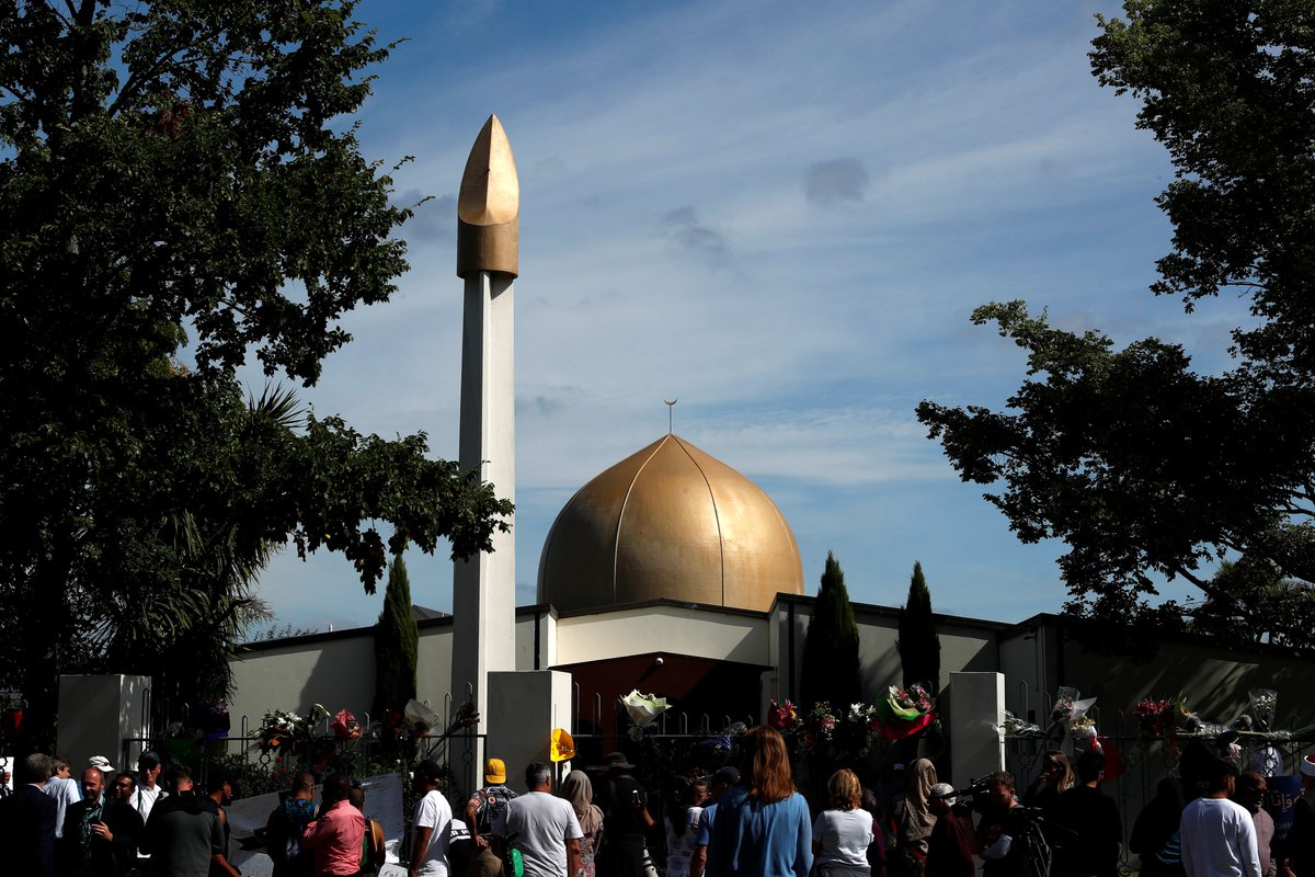 New Zealand police have charged the Australian man accused of killing 51 people at mosques in Christchurch, New Zealand, with terrorism charges. <br>http://pic.twitter.com/wcB3GHfMBt