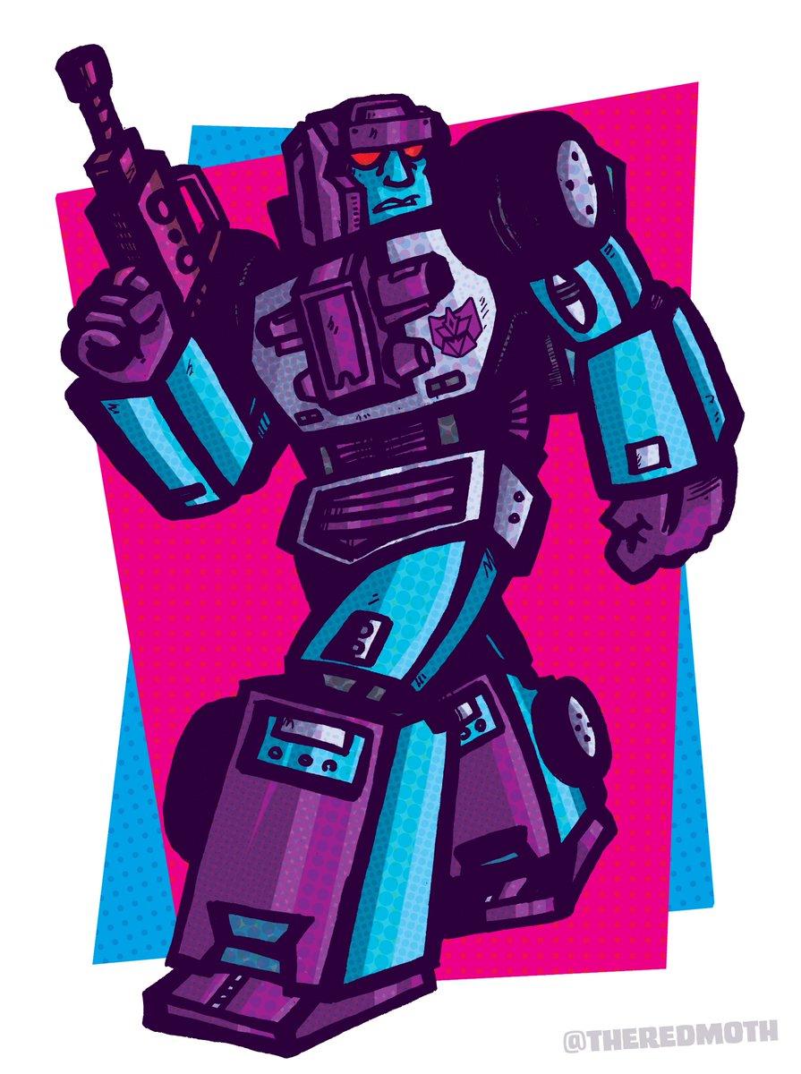 G2 Breakdown. A neon nightmare.#transformers #robots #breakdown #G2 #G1 #toys #menasor #stunticon #deception #combinerwars #maccadam #toys #comics #art
