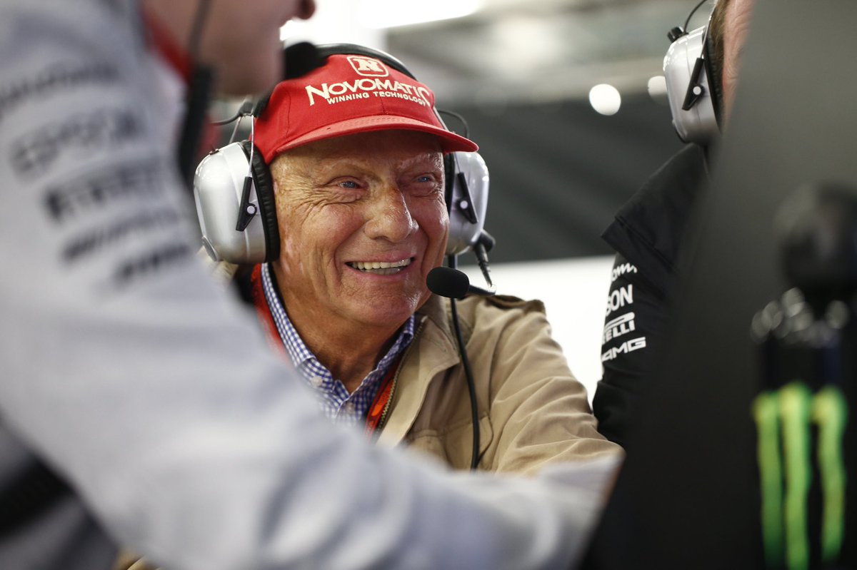 We are deeply saddened by the passing of #F1 legend Niki Lauda, who will be greatly missed by all at #PETRONASmotorsports  Thanks for everything, Niki ♥️