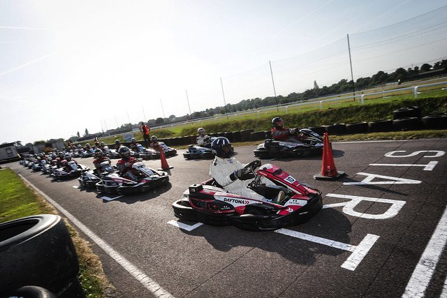 Are you looking for a Office team day with a bang!? Join us for a throttle thrilled race at   @DaytonaMSport  against Damon Hill @HillF1 on Wed 19 June at our Karting Challenge!   http://bit.ly/DHKC19   #F1BeyondTheGrid  #guildford  @guildfordhub  @connectsurrey