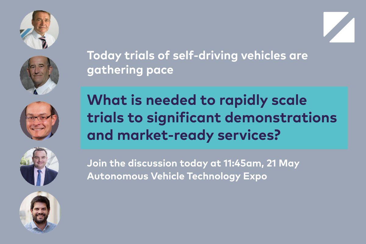 Join our panel discussion today at 11:45 in Room A at the #avtexpo with both the Zenzic (previously Meridian) and Testbed UK teams. The panellists will discuss driving adoption at scale and the essential activities to 2030.  #selfdrivingrevolution #futureofmobility #CAV
