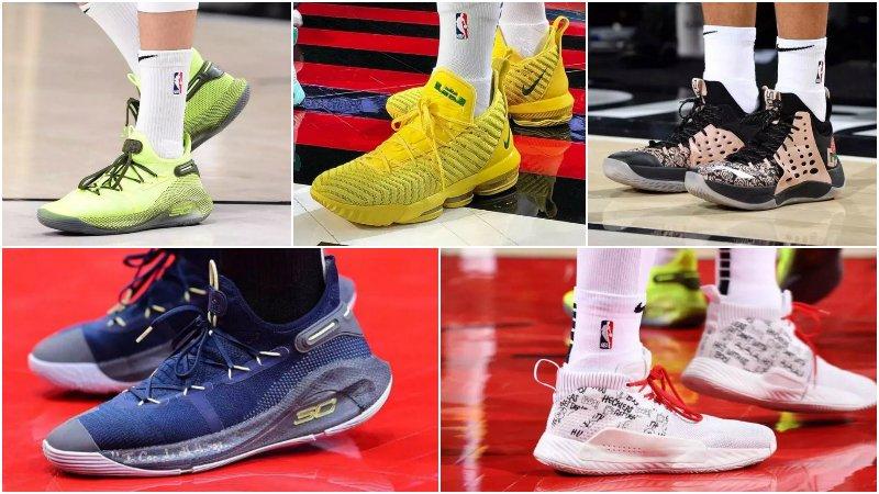球鞋匯 | NBA球員今日球鞋上腳:柯瑞兄弟的Curry 6 ,湯普森上腳冠軍配色戰靴!-Haters-黑特籃球NBA新聞影音圖片分享社區