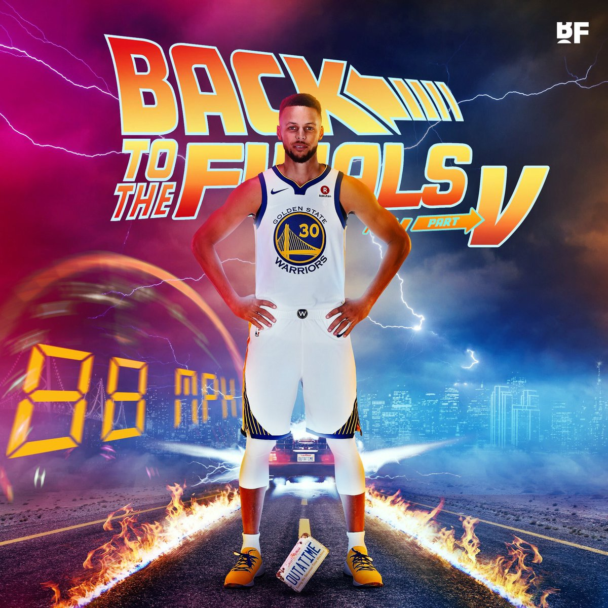 The Warriors made their 5TH STRAIGHT FINALS!