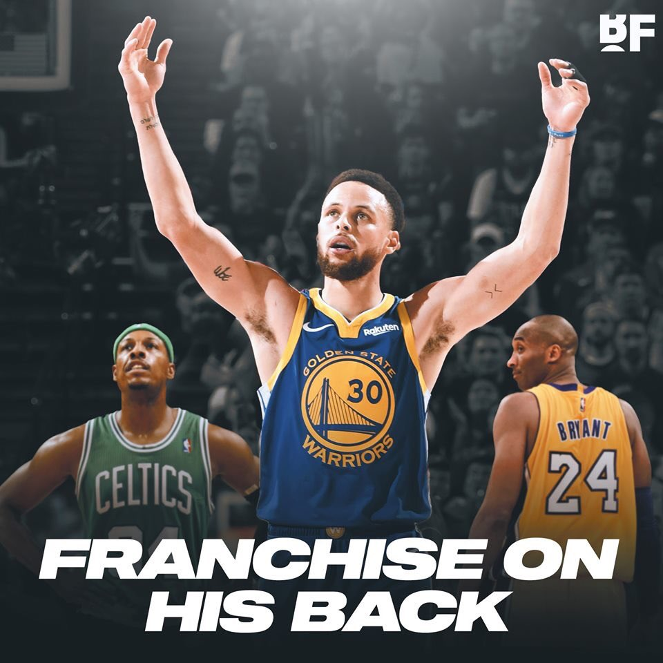 The Golden State Warriors are the 3rd ALL-TIME in NBA Finals appearances with 7 behind only the Los Angeles Lakers and Boston Celtics  5 of those appearances were with Stephen Curry!