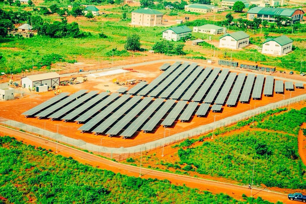 Federal University, Ebonyi will now get 24-hours uninterrupted power supply this year, as govt sets to complete the 1MW solar plant with an 8km streetlight. Also off-campuses and host communities shall be connected. UNIBEN and 36 federal schools will also have 24-hrs electricity.