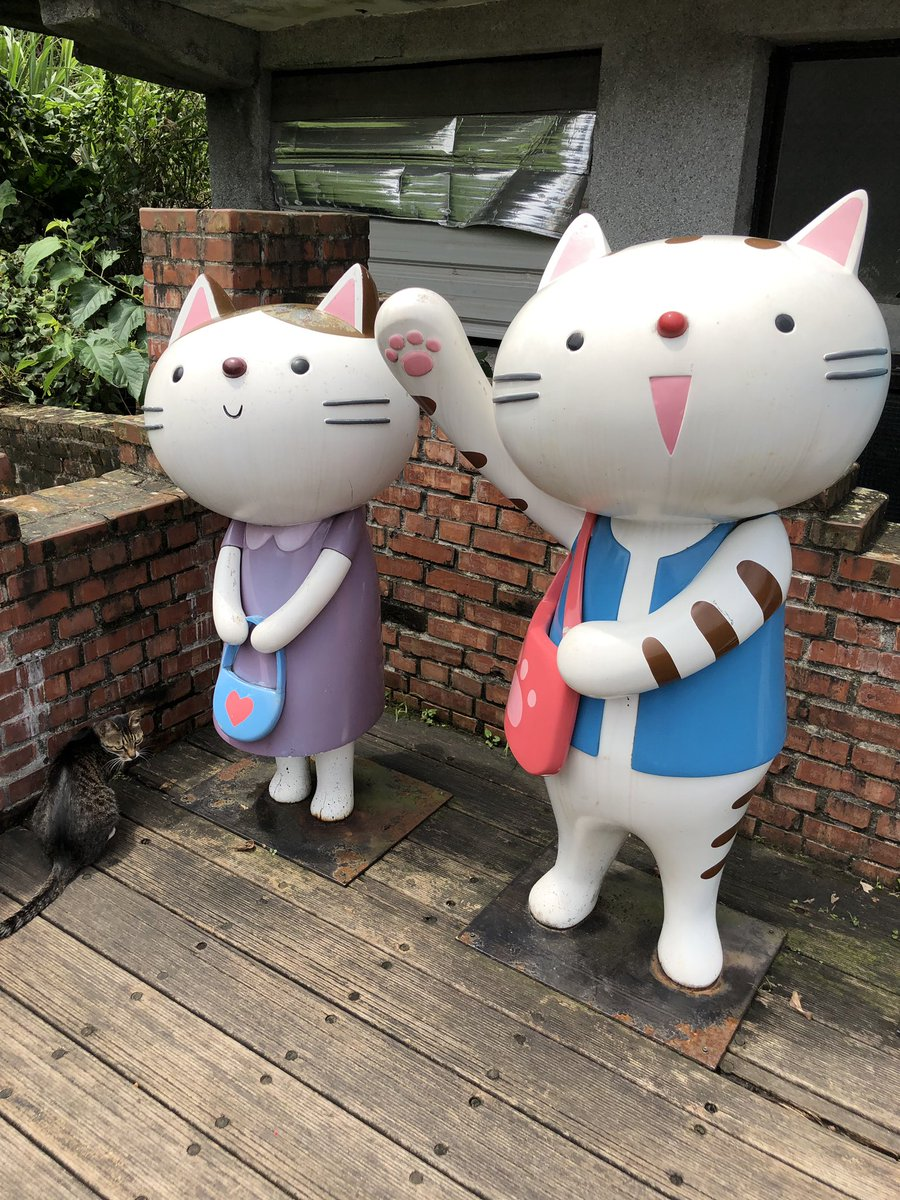 There is a village in #Taiwan called Houtong Cat Village 猴硐貓村. Need I say more <br>http://pic.twitter.com/fpjwyteqkF