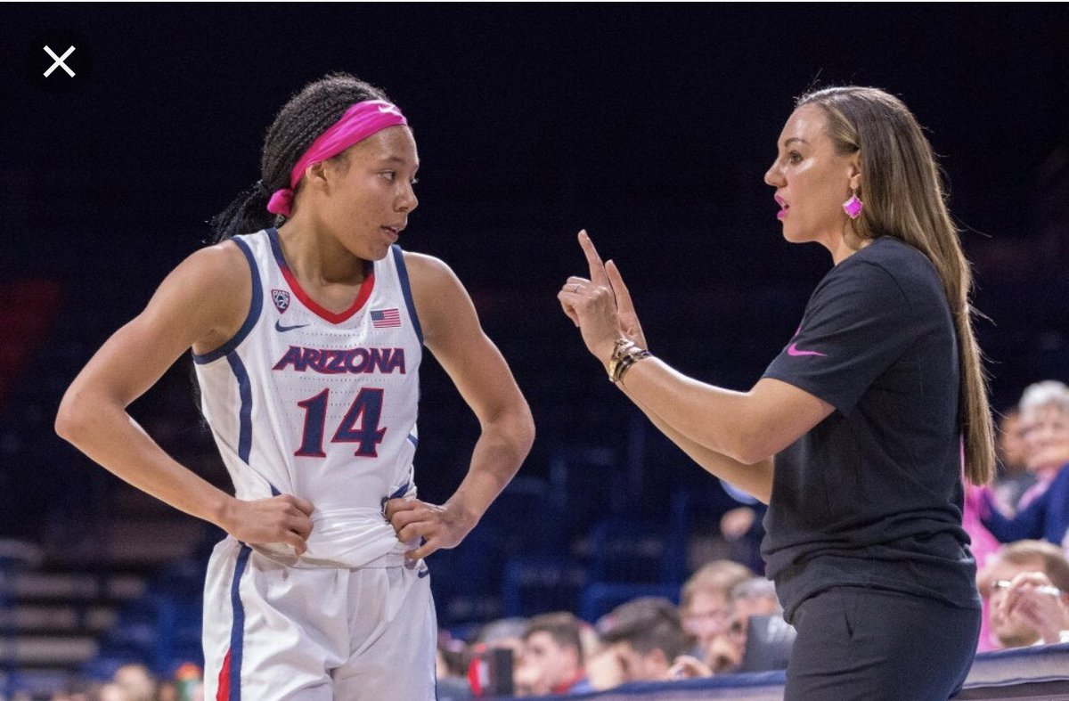 Great conversation with Coach @AdiaBarnes of University of Arizona WBB Thank You for Believing in me #OFFERED  #BearDown  <br>http://pic.twitter.com/zxkSM3oT2M