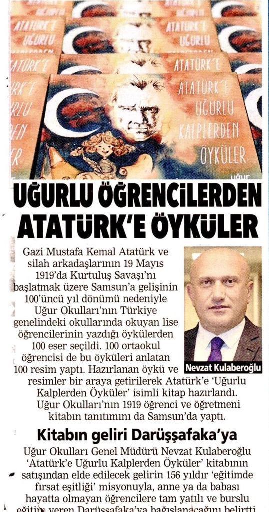 """""""Uğurlu Öğrencilerden Atatürk'e Öyküler"""" @postacomtr  https://www.posta.com.tr/ugurlu-ogrencilerden-ataturke-oykuler-2157460…"""